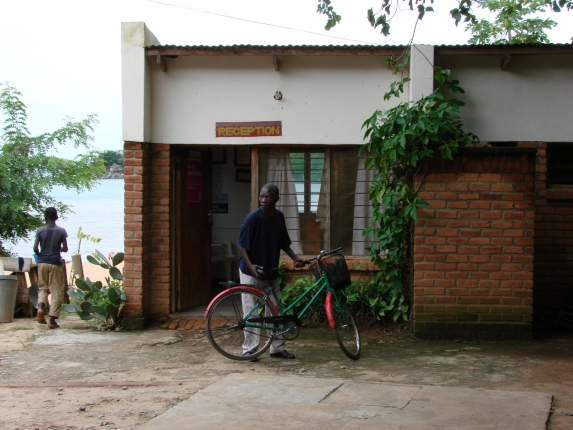 Unser Hotel in Nkhata Bay.