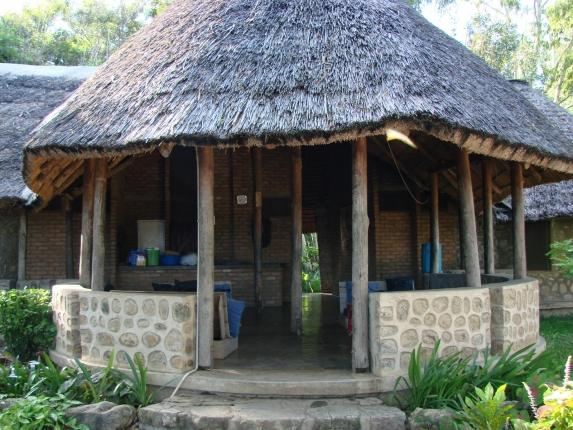 Gästehaus auf Chizumulu Island.