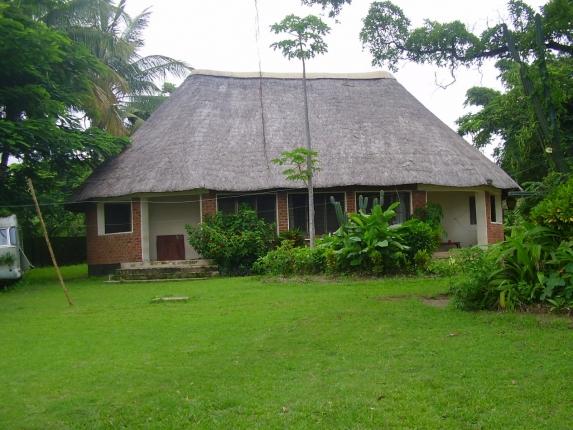 Ein Gästehaus auf dem Gelände der Fangstation.